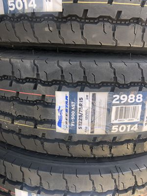 225/75/15 new trailer tires 12 ply for Sale in LAKE MATHEWS, CA