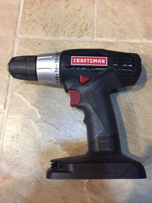 "Craftsman 19.2V Drill Driver 3/8"" Single Speed Reversible for Sale in Rancho Cordova, CA"