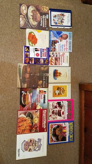 Lot of Kitchen Cooking Baking Grilling Recipe Cook Books for Sale in Chicago, IL