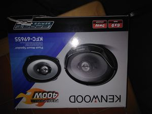 Brand New Kenwood speakers 6x9 for Sale in Washington, DC