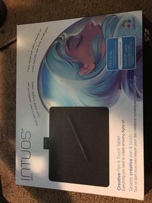 Wacom intuos digital art tablet for Sale in Hoquiam, WA