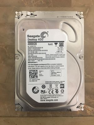 """Seagate 4TB ST4000DM000 3.5"""" Hard drive for desktop, all in one computers or compatible devices for Sale in Pembroke Pines, FL"""