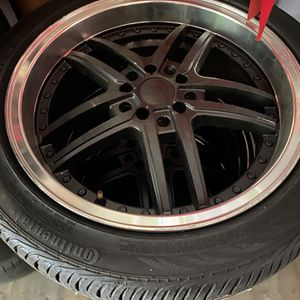 """17"""" Rims With Tires for Sale in Chino Hills, CA"""