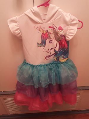 Jojo siwa unicorn tutu dress size 8 for Sale in Chino, CA