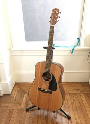 Almost brand new fender acoustic guitar for Sale in San Francisco, CA