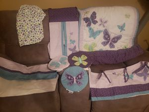 7pc Baby Crib set accessories (Like New) for Sale for sale  Lilburn, GA