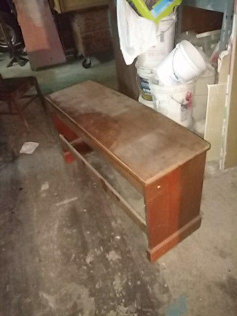 Oregon bench piano bench Walnut