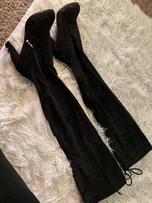 Thigh high boots for Sale in Apple Valley, CA