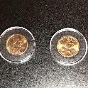 2002 AU & 2003 AU Sacagawea $1 Coins for Sale in Antioch, CA