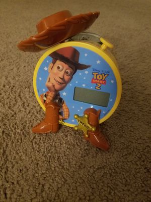 Toy Story kids clock for Sale in Bloomfield, CT