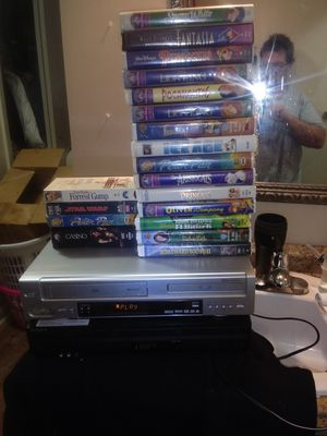 $15-Dvd&Vcr Combo&WaltDisney Collectibles for Sale in Huntsville, AL