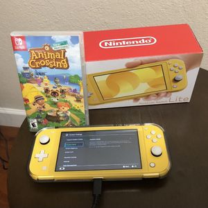 Nintendo Switch lite With Animal Crossing New Horizon for Sale in Miami, FL
