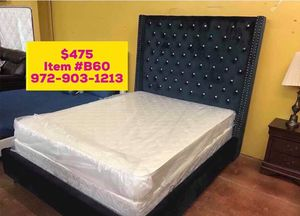 Bed with mattress for sale ✅📦 for Sale in Richardson, TX