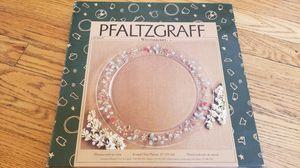 "Pfaltzgraff 13"" round glass platter for Sale in Annandale, VA"