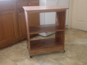 3 Tier Kitchen Shelf. In good condition. Great for your kitchen needs! Must pick up item at location. for Sale in Lynchburg, VA