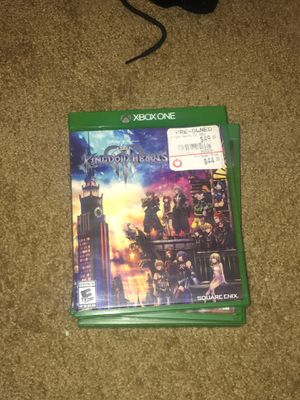 Kingdom Hearts 3 for Xbox One for Sale in Collingdale, PA