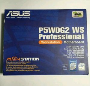 ASUS P5WDG2 WS Professional Workstation Motherboa for Sale in BETHEL, WA