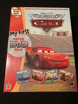 Disney's Cars DVD Puzzle Game Ages 4+ for Sale in Phoenix, AZ