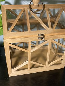 Wooden And Glass Terrarium for Sale in Monroe,  WA