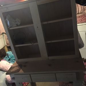 Handmade stand could be computer desk, craft desk, or vanity for Sale in Leechburg, PA