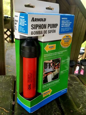 Arnold Siphon Pump (New) for Sale in Fairfax, VA
