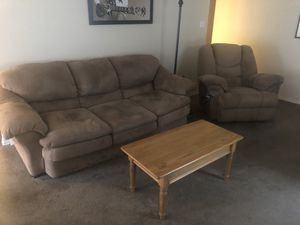 Matching Couch and Recliner for Sale in Austin, TX