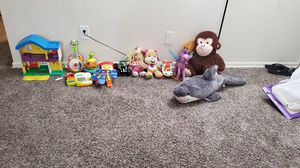 Baby kids toys,trucks, dolls,teddy, helicopter, guitar for Sale in Daniels, MD