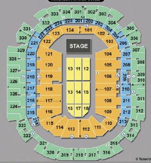The Who - Moving On Tour Tickets in Dallas Tx! for Sale in Dallas, TX