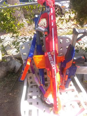 Offer up Nerf guns for sale for Sale in Los Angeles, CA