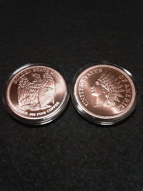 Copper Indian head pennies