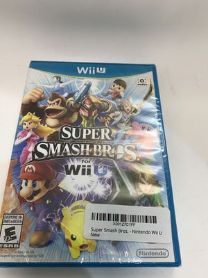 Super Smash Bros. - Nintendo Wii U for Sale in Glendale, CA