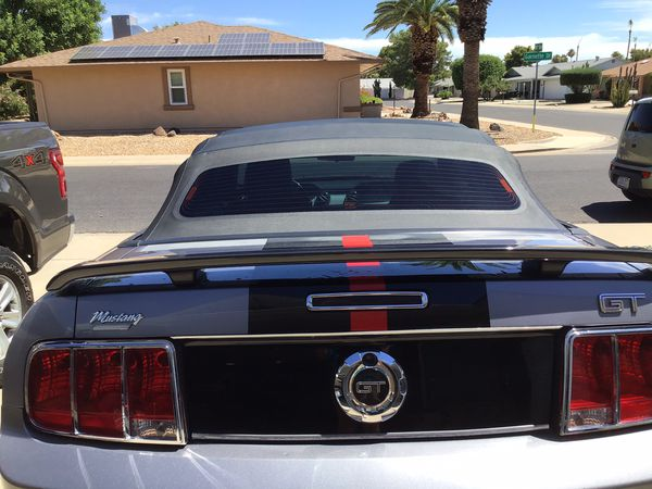 Mustang GT convertible 2006 automatic