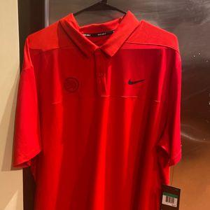Atlanta Hawks Nike Polo Sz XL NWT Msrp: $65 for Sale in Atlanta, GA