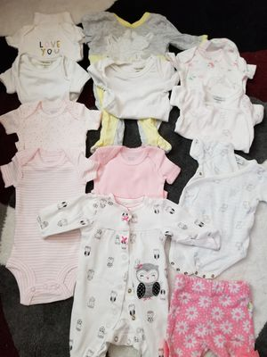 Baby girl cloth from 0 to 6 months. Ropa de bebe de 0 a 6 meses. for Sale in Hollywood, FL