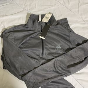 Nwt adidas men's ClimaLite Tech 1/4-Zip Pullover for Sale in Arcadia, CA