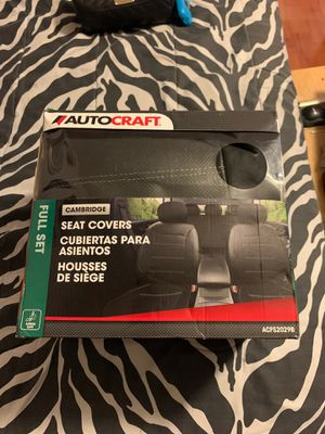 Black Seat Covers (Never Used) for Sale in Miami, FL