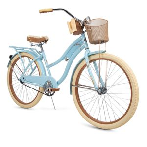 """Huffy 26"""" Womens Nel Lusso Cruiser Bike with Perfect Fit Frame, Blue for Sale in Carrollton, TX"""
