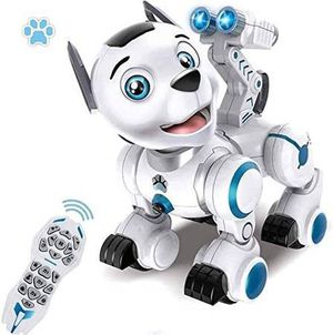 Remote Control Robotic Dog, RC Robot Dog Electronic Pets Interactive Intelligent Walk Sing Dance Programmable Robot Puppy Toys for Kids Toddler Birth for Sale in Pomona, CA