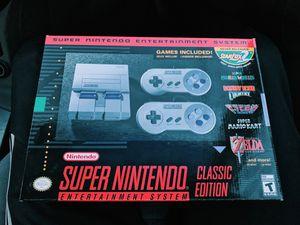 BRAND NEW Super Nintendo Classic Edition Mini for Sale in Atlanta, GA