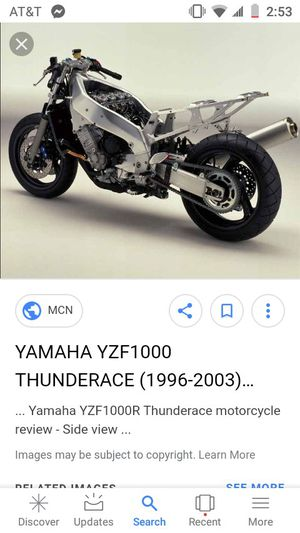 1997 Yamaha Yzf 1000 for Sale in Tennerton, WV