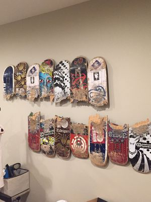 Skateboard Wall Art (2 piece set) for Sale in Sully Station, VA