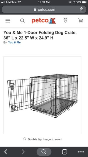 Large dog crate/kennel for Sale in Seattle, WA