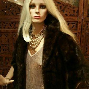 Luxury Genuine Mink Fur Shawl by GRAF'S FURS for Sale in San Diego, CA