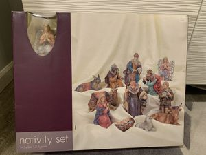 Nativity set of 12 figures from Target New!! for Sale in Lake Oswego, OR