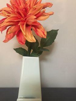 Small White Multi-Purpose Vase for Sale in Portland,  OR