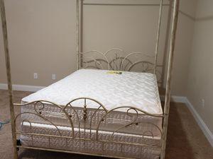 Metal frame canopy bed for Sale in Evans, GA