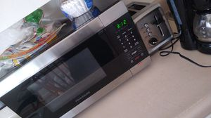 Everything must go microwave toaster coffee maker make me an offer slightly used for Sale in Denver, CO