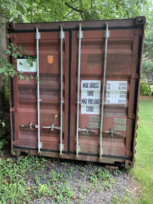 Storage container 20 foot looking for cash or a new shed for Sale in Mount Laurel, NJ