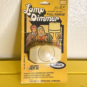 Vintage 1974 Lamp Dimmer Brand New for Sale in Burbank, CA