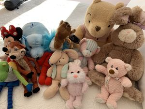 Stuffed animal assortment for Sale in Bayside, WI